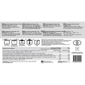 Tactical Foodpack Meal Delta Ration Bag 390g, Diverse